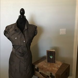 Burberry London casual dress with all their style
